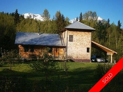 Hazelton BC Property For Sale - 23 Acres with 2 bedroom home