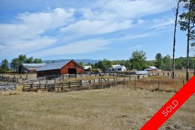 13064 Neal Road Smithers BC | 149 Acre Farm with Home For Sale