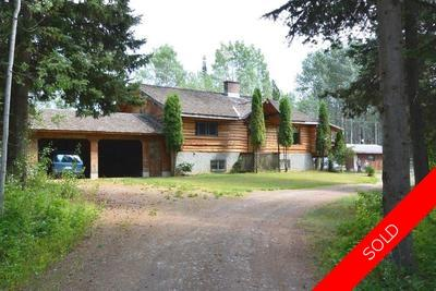 Beautiful Log Home With 5 Acres in Smithers BC | Smithers BC Real Estate For Sale