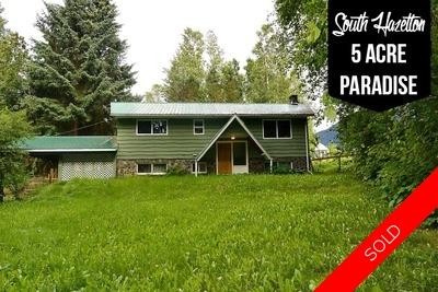 South Hazelton Home with Acreage for sale:  3 bedroom 2,200 sq.ft. (Listed 2017-01-01)