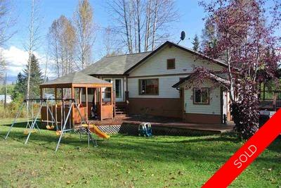 Smithers Home with Acreage for sale:  4 bedroom 2,998 sq.ft. (Listed 2016-09-28)
