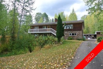 Smithers Home with Acreage for sale:  4 bedroom 3,600 sq.ft. (Listed 2018-09-29)