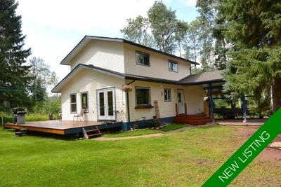 Telkwa Home with Acreage for sale:  4 bedroom 1,704 sq.ft. (Listed 2019-08-12)