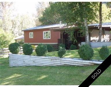Hazelton  Manufactured Home with Land  for sale:  3 bedroom 1,200 sq.ft. (Listed 2013-10-03)
