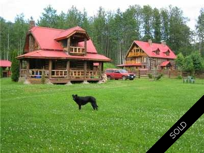 Rural Smithers Farm/Ranch for sale:  3 bedroom 2,600 sq.ft.