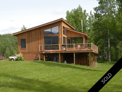 Smithers BC ~ Family Home with 5 Acres