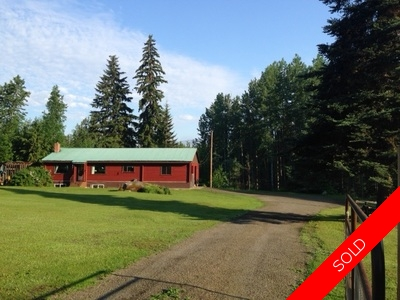 South Hazelton House & Acreage For Sale | 4 BR 2 BA Family Home on 4 Acres.