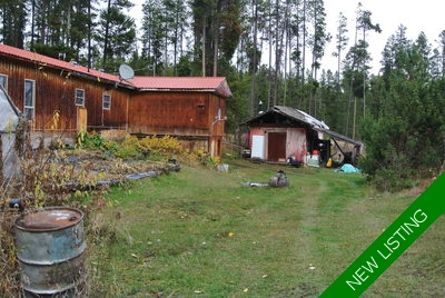 Smithers rural Mobile with Land for sale: River frontage 2 bedroom 1,386 sq.ft. (Listed 2017-10-19)