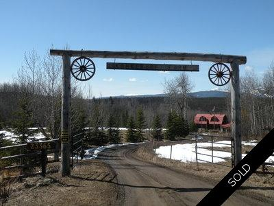 Houston BC 160 Acre Farm/Ranch for sale.