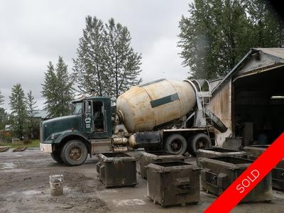 Smithers Commercial building for sale: Concrete business on 4.64 acres