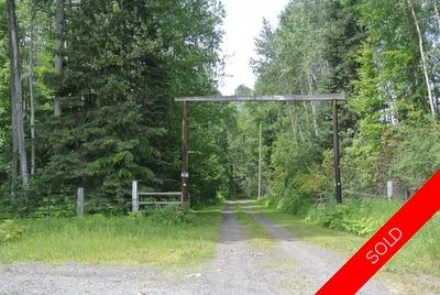 Wonderful Evelyn Area House with 40 Acres | Smithers Bc Real Estate For Sale
